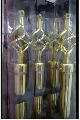 golden curtain rods 2m single image 1