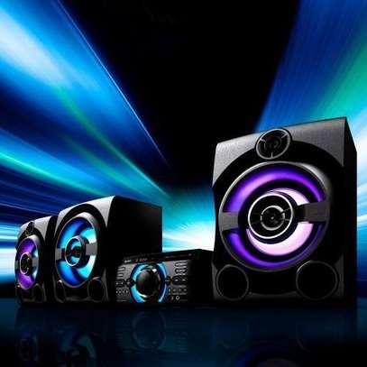 Sony HI-FI AUDIO SYSTEM, KARAOKE, CD/DVD BLUETOOTH M80D image 1