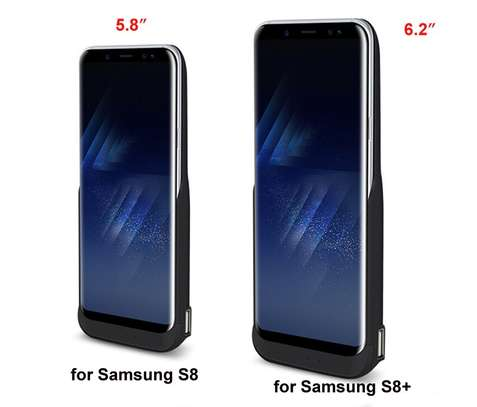 JLW  Battery Case For Samsung Galaxy S8 5500mAh S8 Plus 6500mAh USB Smart Charger Cover For Samsung Galaxy S8 Plus Power Bank image 1