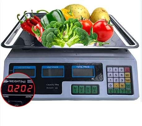 Digital Weighing 40Kg Digital Scale image 1