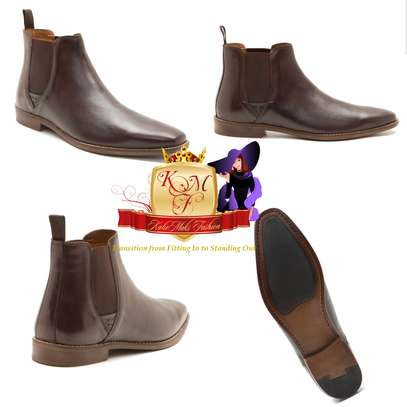 Tapton Tan Men's Chelsea Boots Made in UK