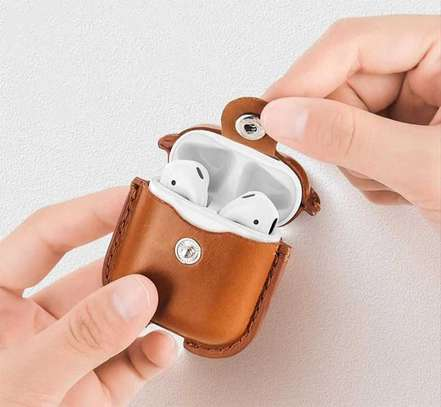 COTEetCI AP26 magnet leather AirPods Pro PU case with hook image 5