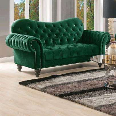 Three seater green chesterfield sofas for sale in Nairobi Kenya image 1