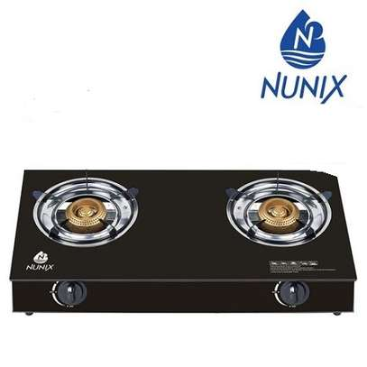 Nunix GG PRO-005 - Tampered Glass Gas Table Cooker