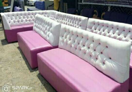 Restaurant /Fast foods booth /lounge seats image 4