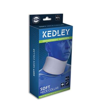 Kedley Orthopaedic Supports Soft Neck Foam Collar Senior (Medium/ Large) image 1