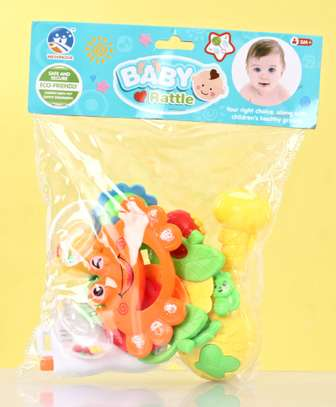 Baby Rattle Pack of 8 – Multicolor image 7