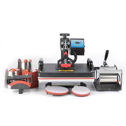 8 in 1 Combo Heat Press Machine Sublimation Printer For Mug/Cap/T shirt/ image 2