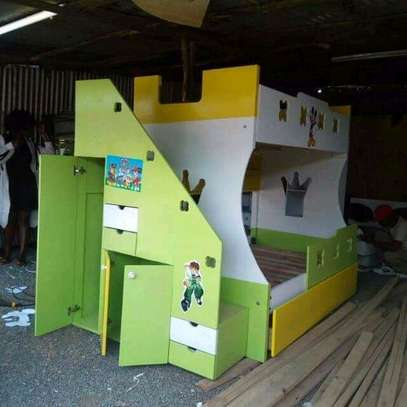Fancy tri /double decker kids beds image 1