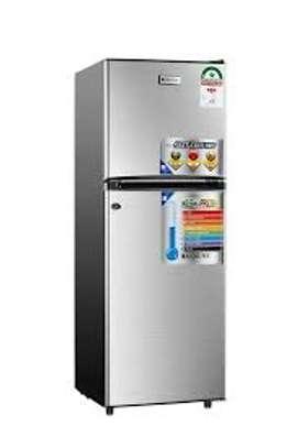 Rebune double door fridge 129litres image 1