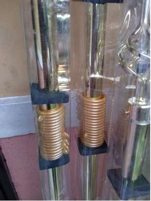 gold curtain rods 2m single image 1