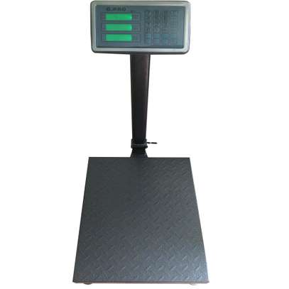 Electronic scales with 300kg platform with folding. image 1