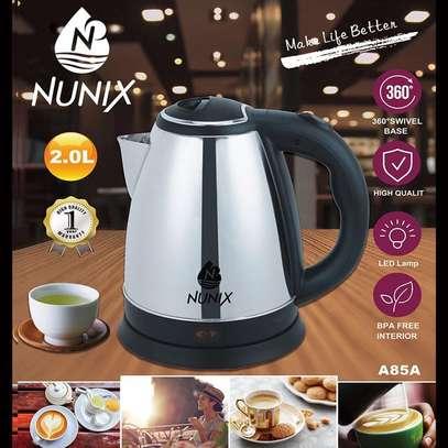 Nunix Electric Kettle Plastic 2.0L Cordless image 1