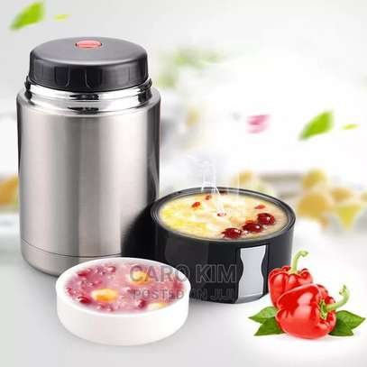 Stainless Steel Food Flask image 1