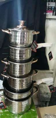 Stainless steel sufuria/induction sufuria image 1