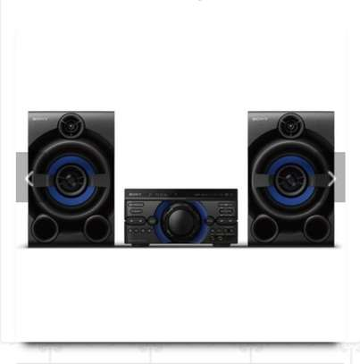 Sony High Power Bluetooth Wireless Audio System MHC-M40D - Black image 1