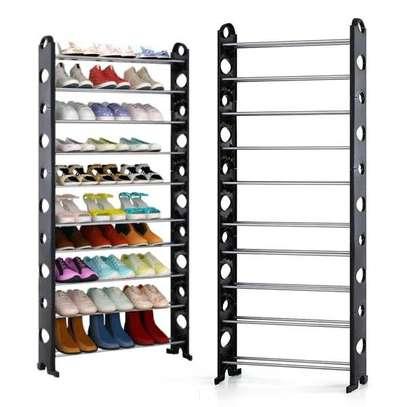 10 Layer Shoe Rack image 1