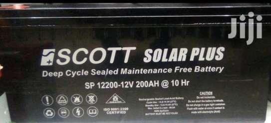 Scott 200ah Solar PLUS Deep Cycle image 1