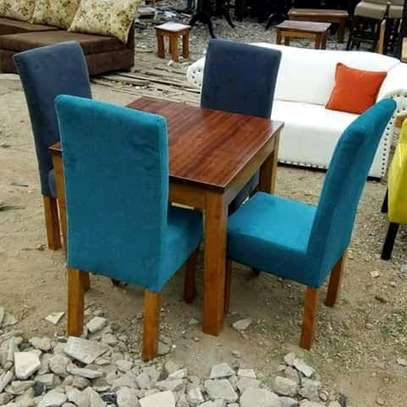 Simple Modern Quality 4 Seater Dining Table image 1