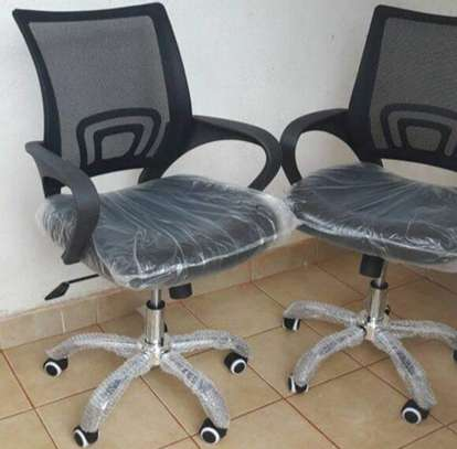 Secretarial office chair/ home study image 1