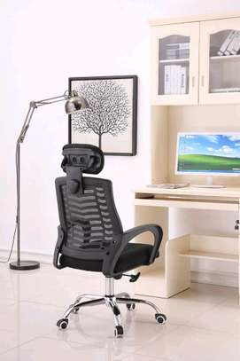 Classic and comfortable headrest office chair N33F image 1