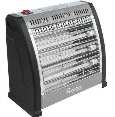 Ramtons RM/469 Electric Bar Quartz Heater, Black & Silver image 3