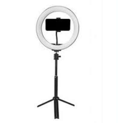 10 inch Ring Light with Stand Tripod, image 1