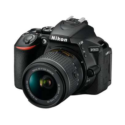 Nikon D5600 DSLR Camera With 18-55mm Lens - 24.2 MP