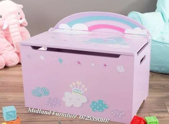 Baby toy box / kids toy box image 3