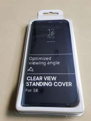 Official Clear View Case with Sensor for Samsung Galaxy S8/S8 Plus image 1