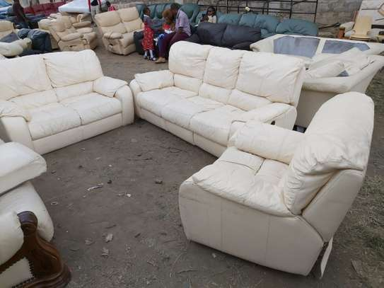 Leather Sofa (6 Seater)