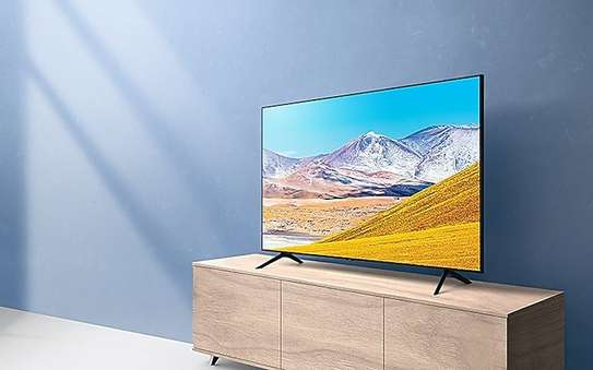 Samsung 55AU8000 55 Inch Crystal UHD 4K Smart TV (2021) - Black image 1