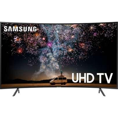 Samsung RU7300 65″ Class HDR 4K UHD Smart Curved TV image 1