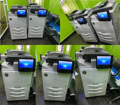 Latest ricoh aficio mpc401 digital photocopier machine image 1