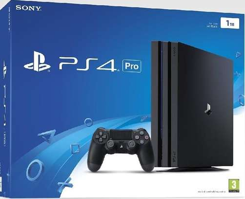 Ps4 Pro console 1tb image 1