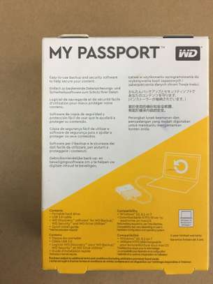 Western Digital 2TB Black My Passport Portable External Hard Drive - USB 3.0 image 3
