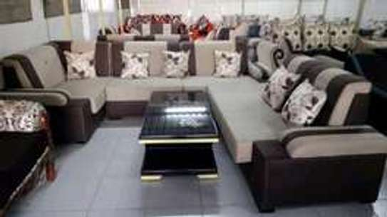 7 seater suede sofas image 4