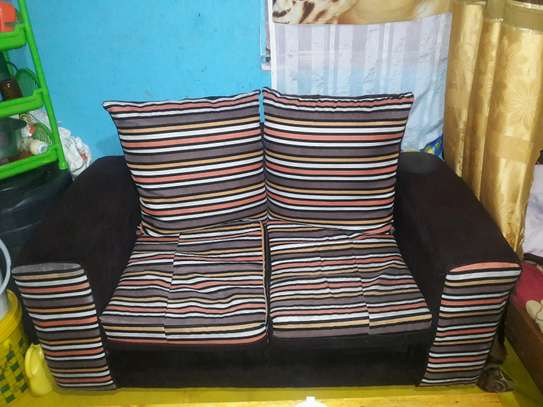 2 seater sofa with pillow