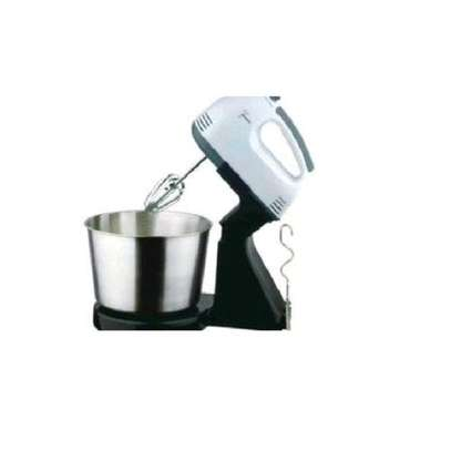 Speed Electric Hand Mixer With Bowl For Eggs & Soft Dough image 2