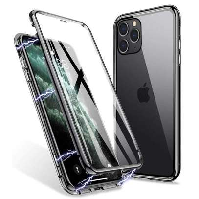Magnetic Double-sided 360 Full Protection Glass Case for iPhone 11/11 Pro 11 Pro Max image 15