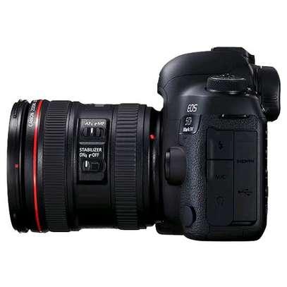 Canon EOS 5D Mark IV 24-105mm F/4L IS II USM Lens 30.4MP DSLR Camera Black image 1