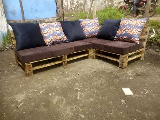 Simple Modern Quality 6 Seater Sectional Outdoor Sofa image 1
