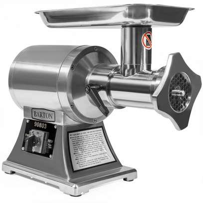 1100W Heavy Duty Electric #22 Meat Grinder Stainless Steel Sausage Tube image 6