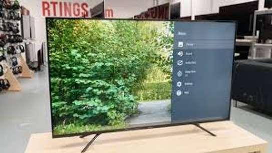 55 INCH HISENSE UHD 4K FRAMELESS TV image 1