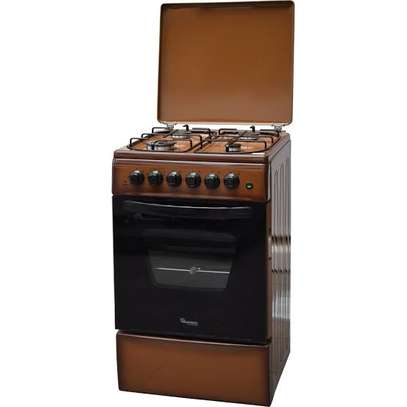 Ramtons 4GAS+ELECTRIC OVEN 50X50 SILVER COOKER- RF/316 image 1