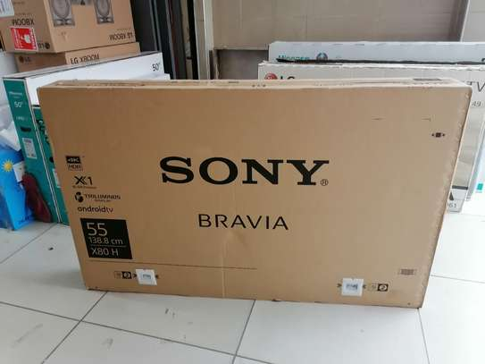 Brand new 55 inch Sony smart 4k android led TV