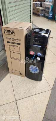 Mika Water Dispenser, Standing, Hot & Electric Cooling, Black-MWD2301/BL image 2