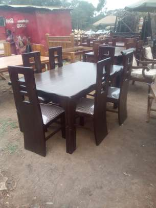 6 Seater Mahogany Dining Table