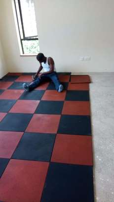 Gym rubber tiles suppliers