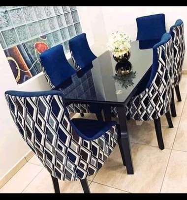 Functional Contemporary Beautiful 6 Seater Dining Table image 3
